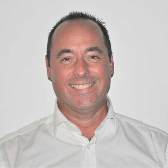 Bruno Martin, en charge de la communication web et du service informatique au Tennis club d'Evian (TCE)