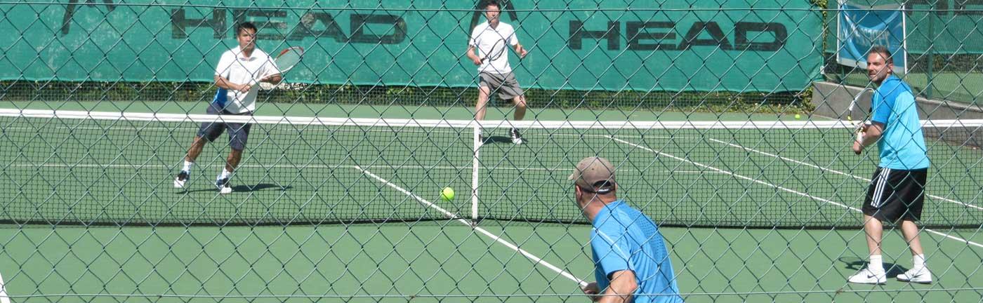 Cours adultes et entraînements adultes au Tennis Club d'Evian (TCE)